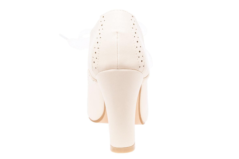 Zapatos en Soft Beige Estilo Oxford.
