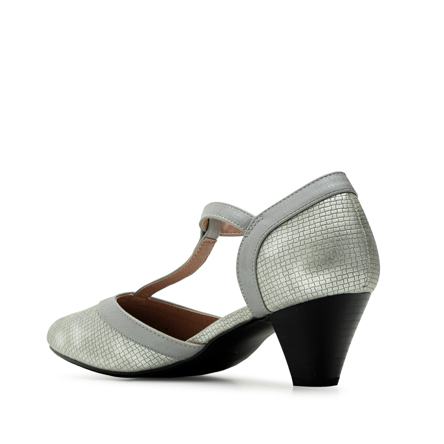 Charleston Sandals in engraved Silver