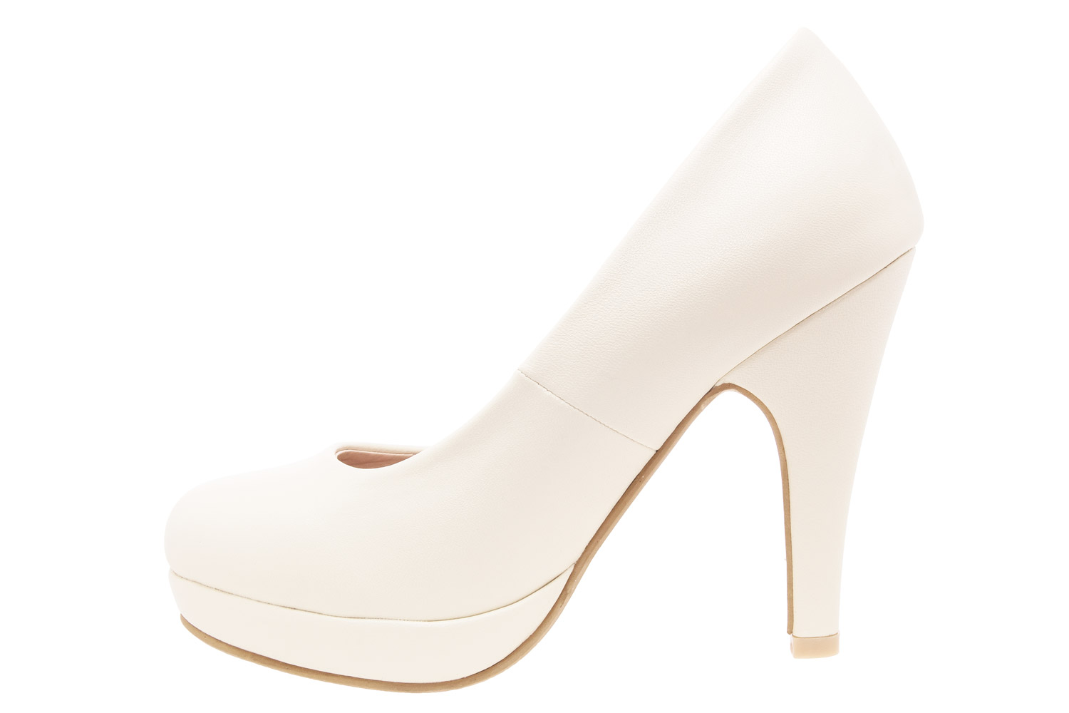 Salones Pumps en Soft Beige y Tacon Stiletto.