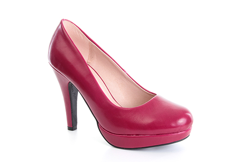Salones Pumps en Soft Magenta y Tacon Stiletto.