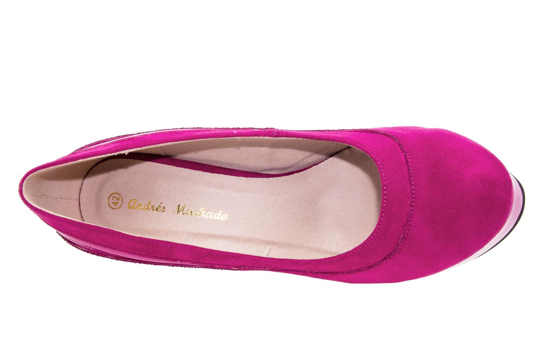 Cipele sa veoma visokom potpeticom i platformom, antilop roze