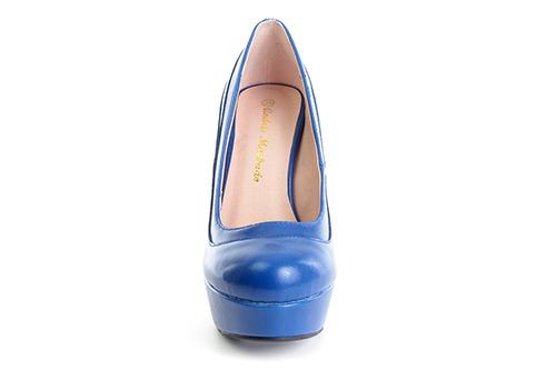 Zapatos en Soft Azulon y Plataforma