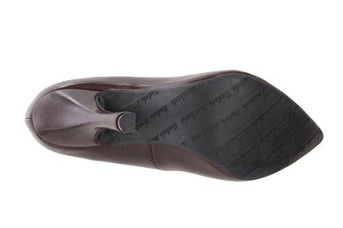 Zapatos Salon en Soft Marron y punta Fina