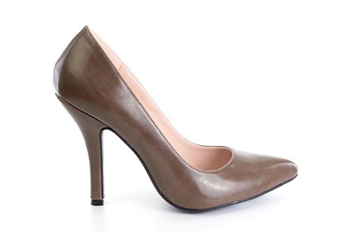 Zapatos Salon en Soft Siena y punta Fina