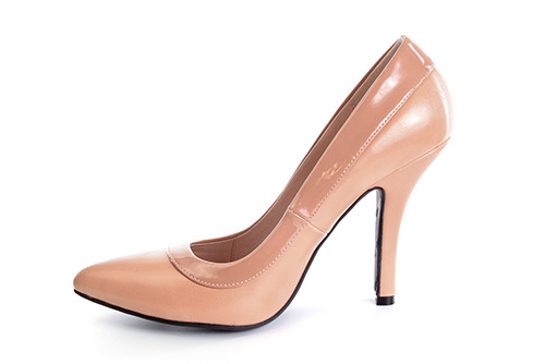 Zapatos Salon combinado Soft Maquillaje y Charol