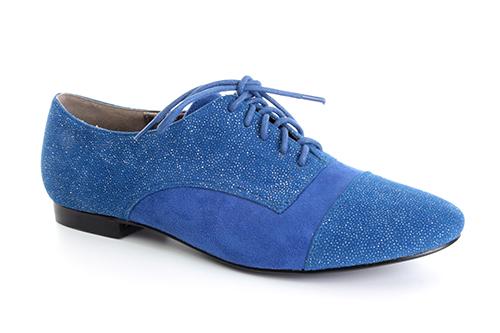 Ravne antilop cipele na pertlanje, plave