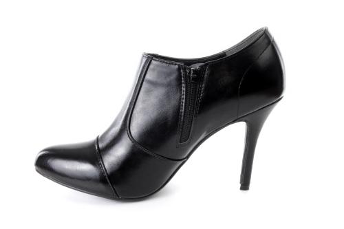 Zapato Abotinado en Soft Negro