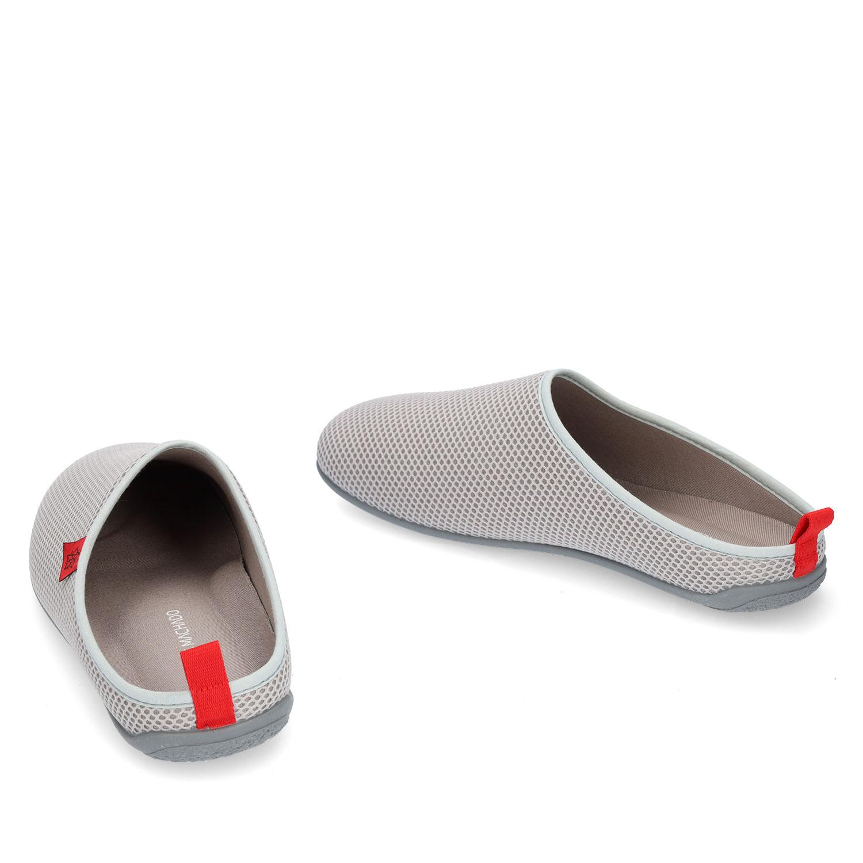 Zapatillas Unisex en Rejilla Gris