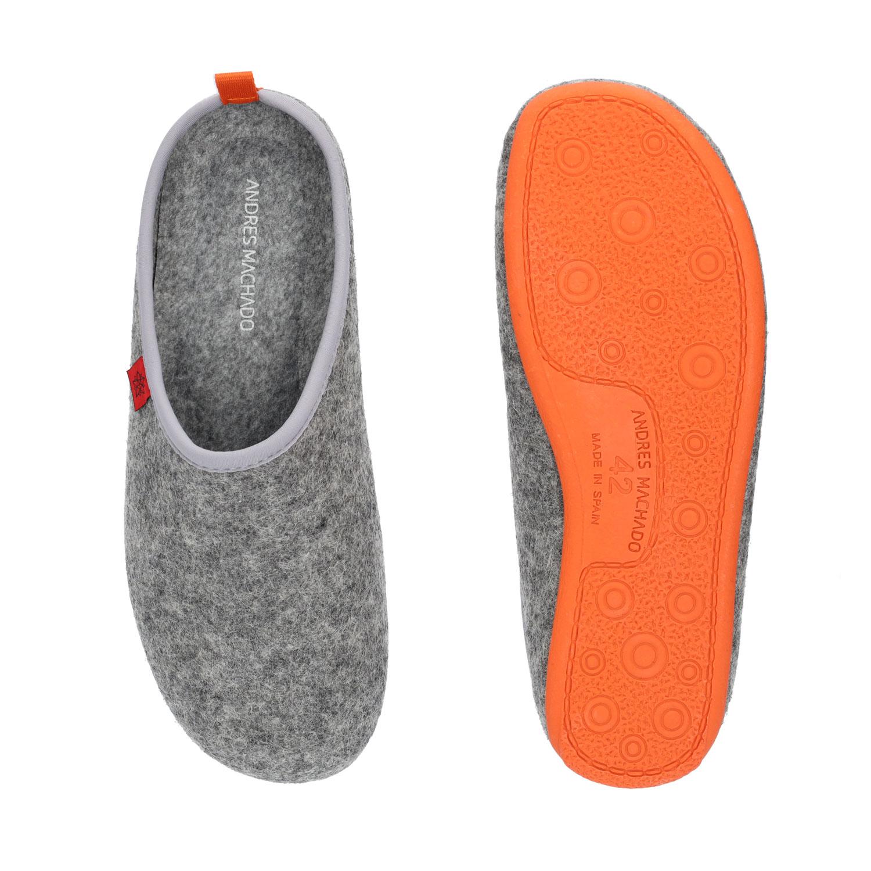 Zapatillas Unisex en Tejido Fieltro Gris