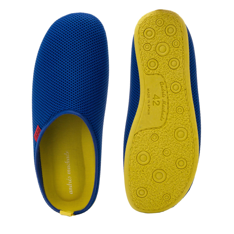 Zapatillas Unisex de estar por casa de Verano en Rejilla Azul Klein