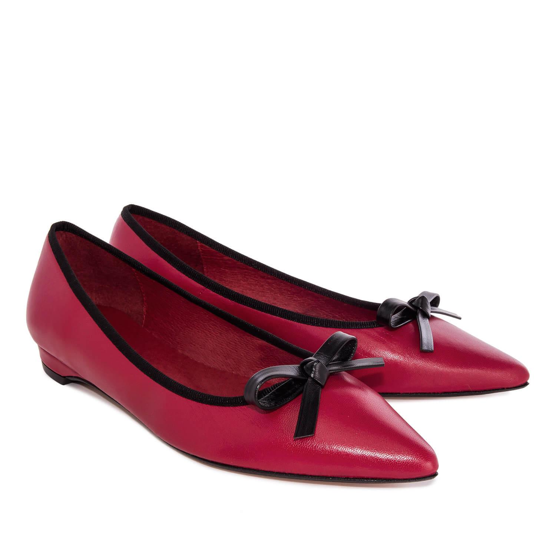 Bailarina Piel Rojo