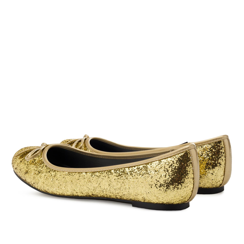 Bailarina Clasic Glitter Oro