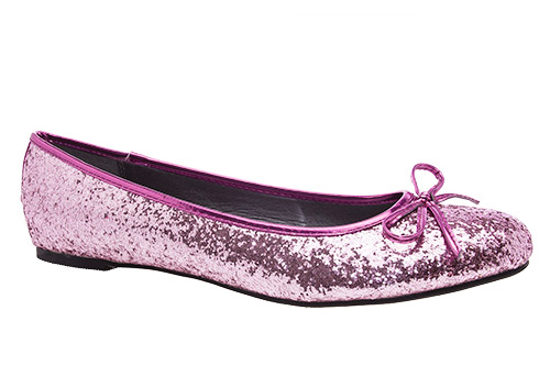 Bailarina Clasic Glitter Rosa