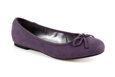Baleríny klasické pull fialové
