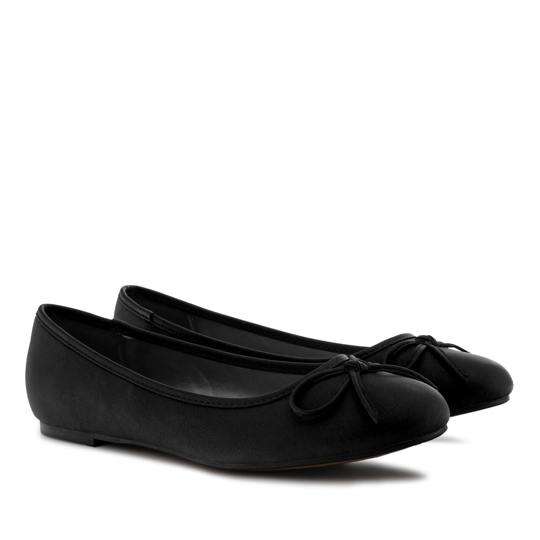 Bailarina Pull Negro con Lazo.