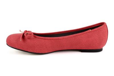 Baleríny klasické pull červené