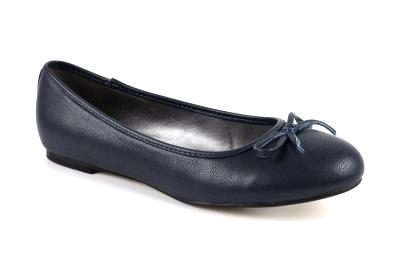Baleríny klasické soft námořnická modř