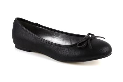 Baleríny klasické hladké černé