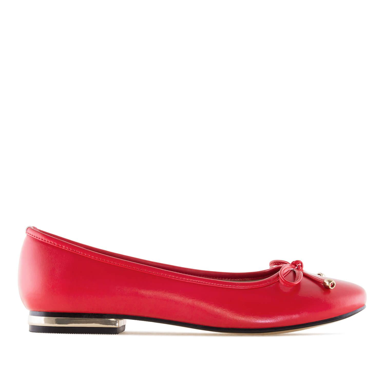 Klasične baletanke, crvene