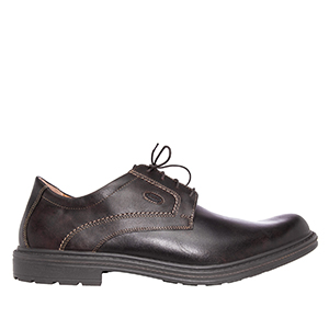 Derby shoes in Brown Leather