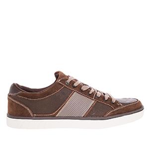 Kožené pánské skate boty, hnědé