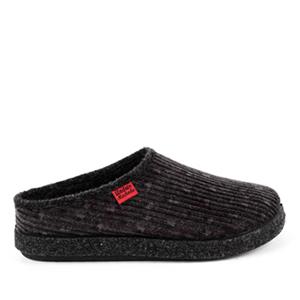 Módní šedé bačkory- pantofle. Materiál manchester.
