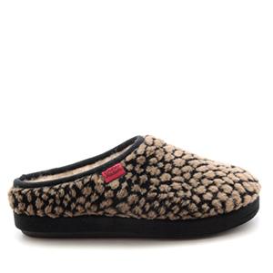 Módní bačkory- pantofle Alpino. Materiál jemná vlna. Černá a hnědá.