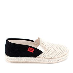 Kućne papuče u raznim bojama, crno-bež