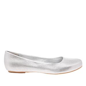Classic Silver engraved Ballerinas