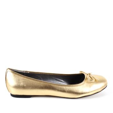 Baleríny klasické hladké zlaté