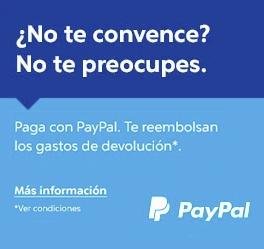 Paypal - reembolso de los gastos de devolución