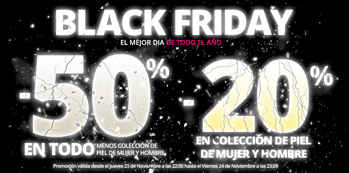 -50% BLACK FRIDAY