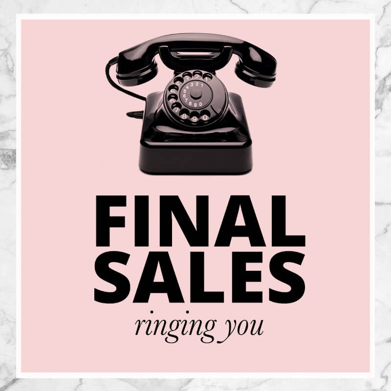 Final Sales Large Sized Shoes and Petite Shoes