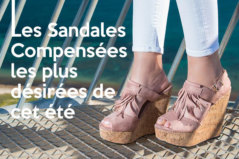 Les Sandales Compensées les plus désirées de cet été